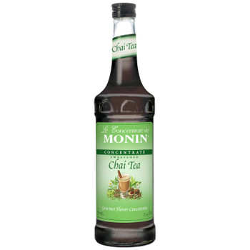 Monin, Chai Tea Concentrate, 750 ml.  (12 Count)