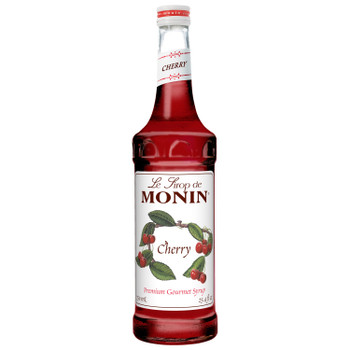 Monin, Cherry Syrup, 750 ml.  (12 Count)
