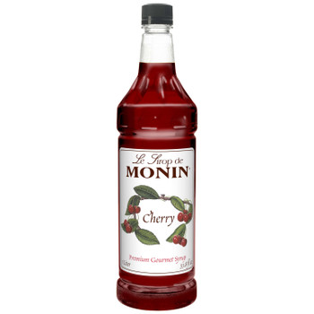 Monin, Cherry Syrup, 1 L.  (4 Count)