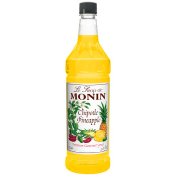 Monin, Chipotle Pineapple Syrup, 1 L.  (4 Count)