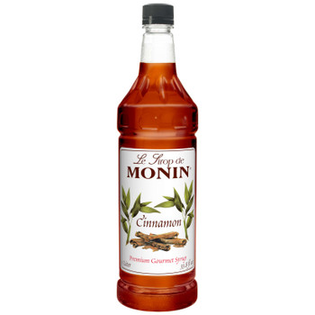 Monin, Cinnamon Syrup, 1 L.  (4 Count)
