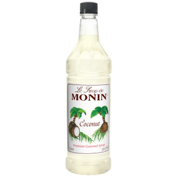 Monin, Coconut Syrup, 1 L.  (4 Count)