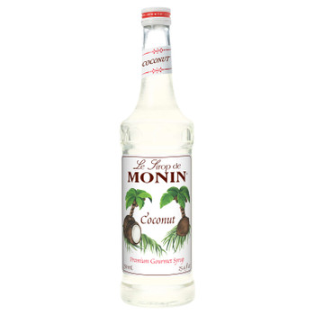 Monin, Coconut Syrup, 750 ml.  (12 Count)