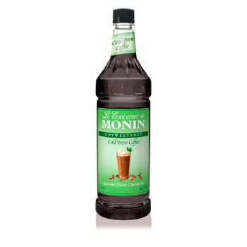 Monin, Cold Brew Coffee Concentrate, 1 L. (4 Count)