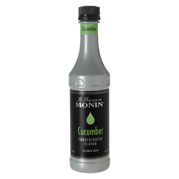 Monin, Cucumber Concentrate Flavor, 375 ml. (4 Count)