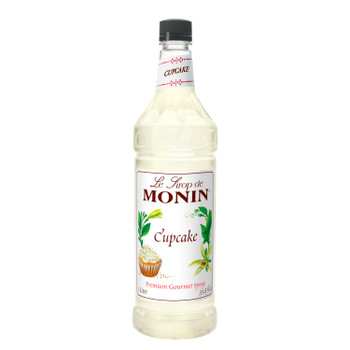 Monin, Cupcake Syrup, 1 L. (4 Count)