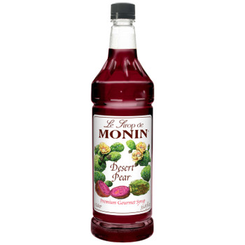 Monin, Desert Pear Syrup, 1 L. (4 Count)