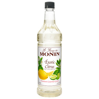 Monin, Exotic Citrus Syrup, 1 L. (4 Count)