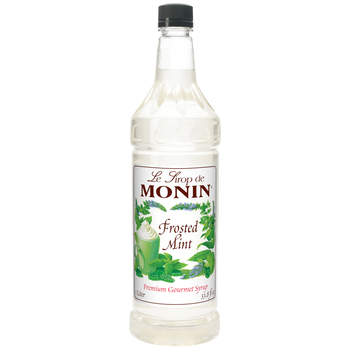 Monin, Frosted Mint Syrup, 1 L. (4 Count)