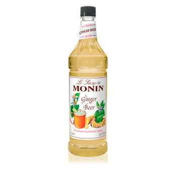Monin, Ginger Beer Syrup, 1 L. (4 Count)