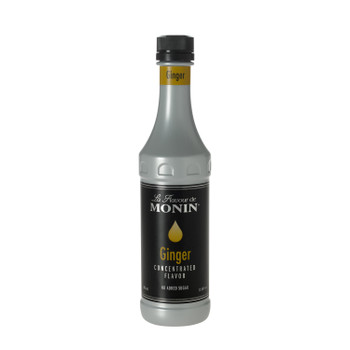 Monin, Ginger Concentrate Flavor, 375 ml. (4 Count)