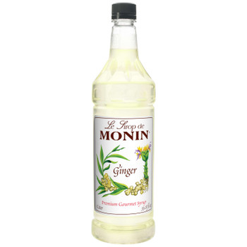 Monin, Ginger Syrup, 1 L. (4 Count)