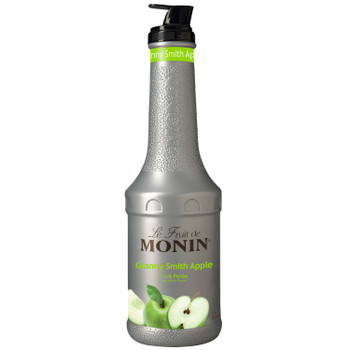 Monin, Granny Smith Apple Puree, 1 L.  (4 Count)