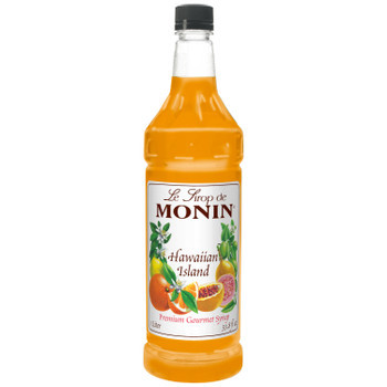 Monin, Hawaiian Island Syrup, 1 L. (4 Count)