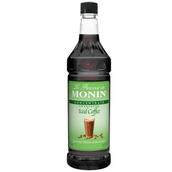 Monin, Iced Coffee Concentrate, 1 L. (4 Count)