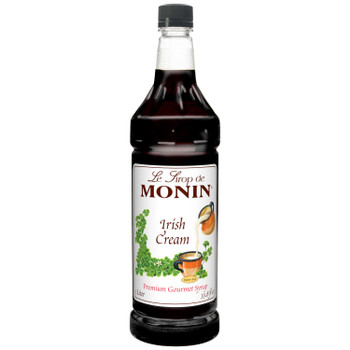 Monin, Irish Cream Syrup, 1 L. (4 Count)