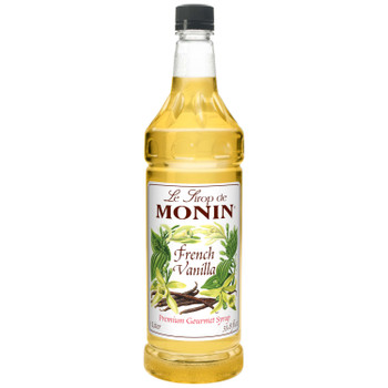 Monin, Kosher French Vanilla Syrup, 1 L. (4 Count)