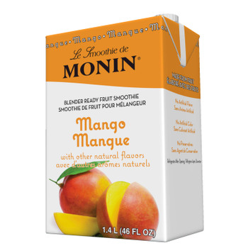 Monin, Mango Smoothie, 46 oz.  (6 Count)