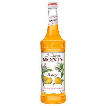 Monin, Mango Syrup, 750 ml.  (12 Count)