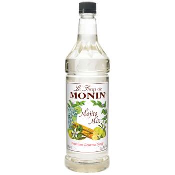 Monin, Mojito Mix Syrup, 1 L. (4 Count)