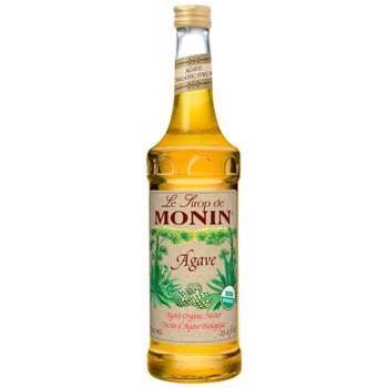 Monin, Organic Agave Nectar Syrup, 750 ml.  (6 Count)