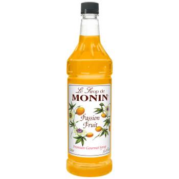 Monin, Passion Fruit Syrup, 1 L. (4 Count)