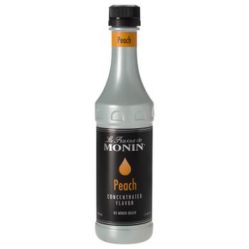 Monin, Peach Concentrate Flavor, 375 ml. (4 Count)