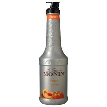 Monin, Peach Puree Syrup, 1 L.  (4 Count)