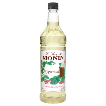 Monin, Peppermint Syrup, 1 L. (4 Count)