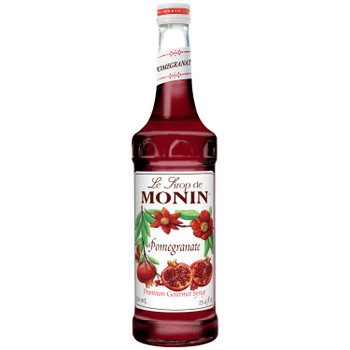 Monin, Pomegranate Syrup, 750 ml.  (12 Count)
