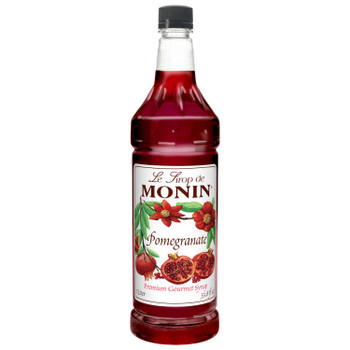 Monin, Pomegranate Syrup, 1 L. (4 Count)