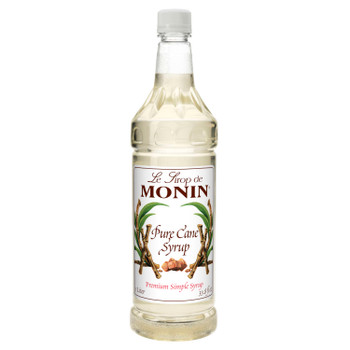 Monin, Pure Cane Syrup, 1 L. (4 Count)