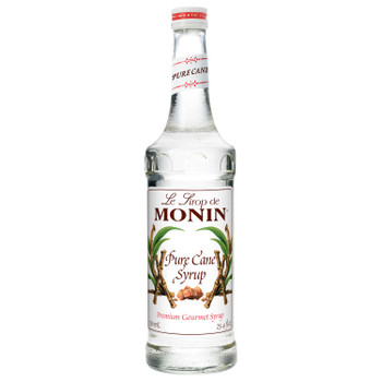 Monin, Pure Cane Syrup, 750 ml.  (12 Count)