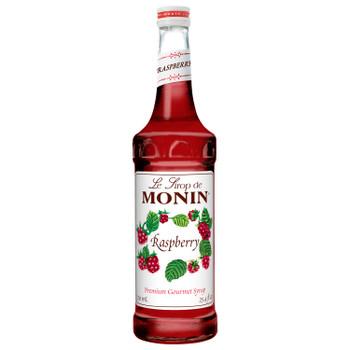 Monin, Raspberry Syrup, 750 ml.  (12 Count)