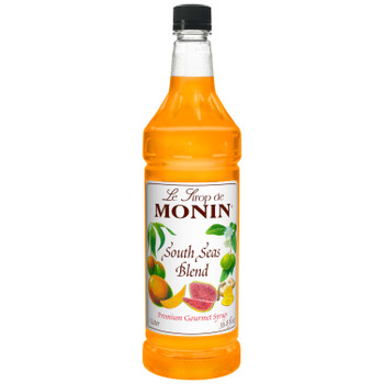 Monin, South Sea Blend Syrup, 1 L. (4 Count)