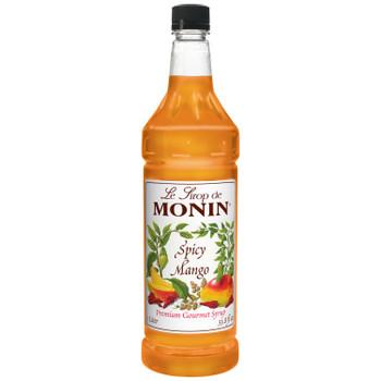 Monin, Spicy Mango Syrup, 1 L. (4 Count)