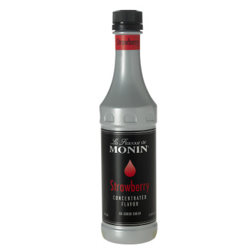 Monin, Strawberry Concentrate Flavor, 375 ml. (4 Count)