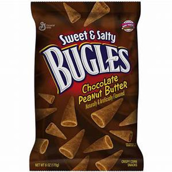 Bugles, Chocolate Peanut Butter, 3.25 oz. Bag (1 Count)