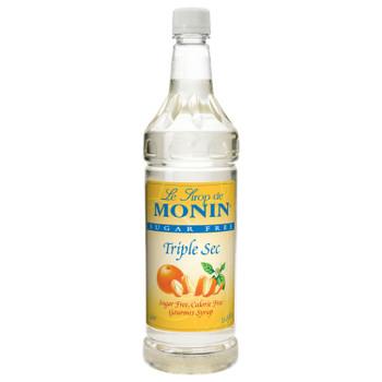 Monin, Sugar Free Triple Sec, 1 L. (4 Count)