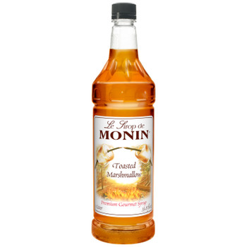 Monin, Toasted Marshmallow Syrup, 1 L. (4 Count)
