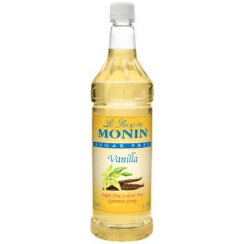 Monin, Kosher Vanilla Syrup, 1 L. (4 Count)