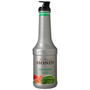 Monin, Watermelon Fruit Puree, 1 L.  (4 Count)