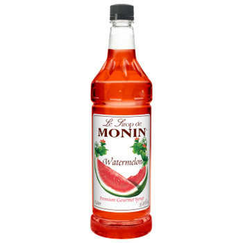 Monin, Watermelon Syrup, 1 L. (4 Count)