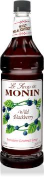 Monin, Wild Blackberry Syrup, 1 L. (4 Count)
