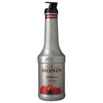 Monin, Wildberry Fruit Puree, 1 L.  (4 Count)