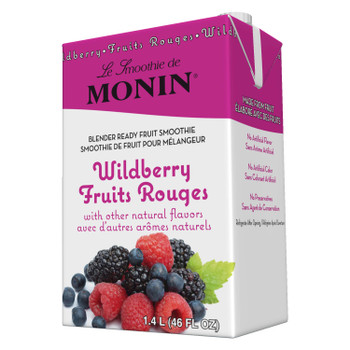 Monin, Wildberry Smoothie, 46 oz.  (6 Count)