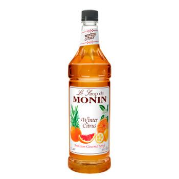 Monin, Winter Citrus Syrup, 1 L. (4 Count)