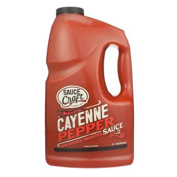 Sauce Craft, Cayenne Pepper Sauce, 1. Gallon (2 Count)