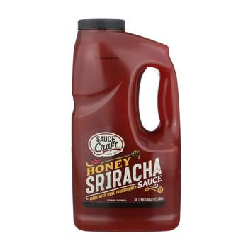 Sauce Craft, Honey Sriracha Pepper Sauce, .5 Gallon (4 Count)