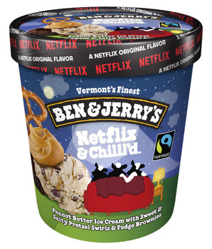 Ben & Jerry's, Netflix & Chill'd Ice Cream, Pint (1 count)